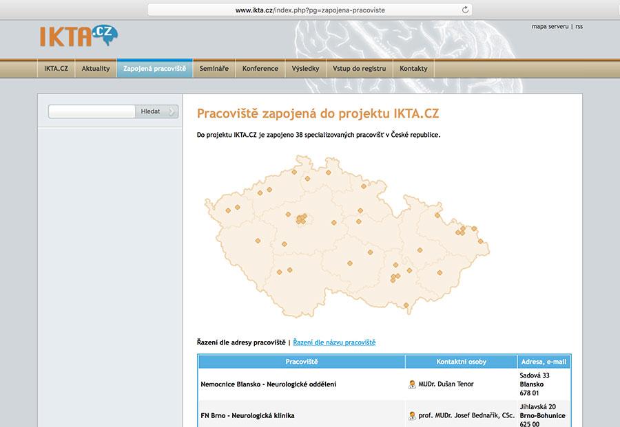 Educational network of stroke centres (IKTA)