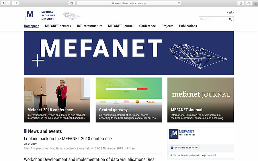 MEFANET: educational network of medical faculties