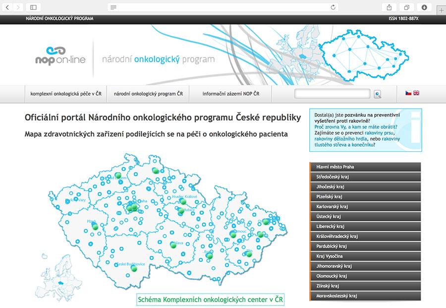 NOP On-line: oficiální portál Národního onkologického programu České republiky