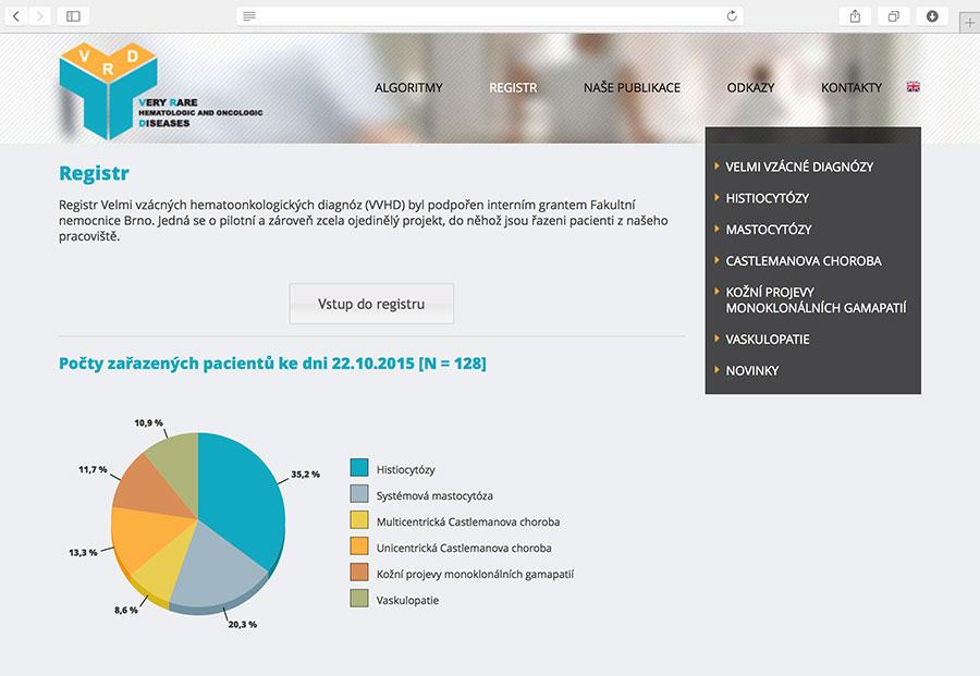 vzacne-diagnozy.cz: informační portál velmi vzácných hematologických a onkologických onemocnění